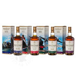 Macallan Travel Series Complete Twenties, Thirties, Fourties, Fifties 40%V0l. 4X 50cl.