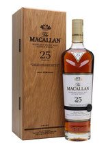 Macallan 25 Years Sherry Oak 2018 43%vol. 70cl.