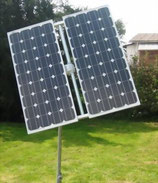 Solartracker 1-Achsig 250Wp