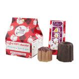 COFFRET TOUT CHOCOLAT 1 SHAMPOOING SOLIDE + 1 BEURRE DE CACAO AU CHOCOLAT