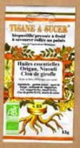 TISANE À SUCER ORIGAN, NIAOULI, CLOU DE GIROFLE 25 PASTILLES 15 g