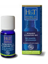 ROMARIN À CAMPHRE BIO 10 ml  HERBES & TRADITIONS