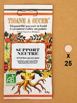 SUPPORT NEUTRE 25 PASTILLES 15 g