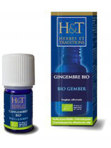GINGEMBRE BIO 5 ml  HERBES & TRADITIONS