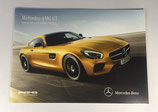 Mercedes-Benz AMG GT Preisliste