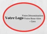 Votre Logo dans la Rubrique Votre Com'