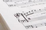 アイリッシュハープ楽譜(指番号付き)