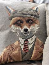 Huntsman Willi, the fox