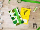 Mutter-Kind-Pass-Hülle SCHILDKRÖTE grün
