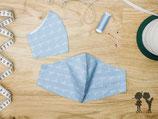 Nasen-Mund-Bedeckung ABC...