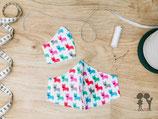 Nasen-Mund-Bedeckung BULLDOGE bunt