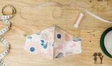 Nasen-Mund-Bedeckung BLUMEN/SCHMETTERLiNG