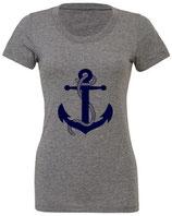 T-Shirt Anker blau (BL8413)