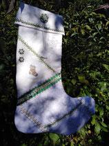 Nikolausstiefel grün