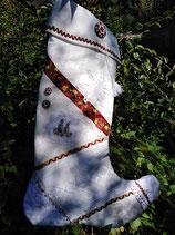 Nikolausstiefel gelbe Röschen