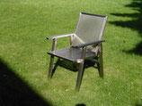 Gartenstuhl aus Edelstahl, Flex1