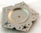Edelstahl Teelicht Stern V5