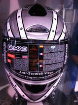 G-MAC Helm silber / weiss