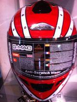 G-MAC Helm rot /silber