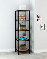 5 Tier Rustic Storage Shelf