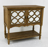 Moroccan Trellis inspired Style Cabinet