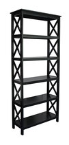 5 Tier Bookcase in Black