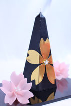 桜五角形(合格)キャンドル
