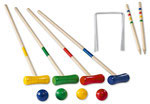 Croquet en bois 4 joueurs