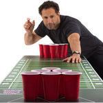 Beer Pong Table, avec 100 gobelets et 6 balles de ping pong