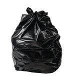 Sacs poubelle noirs Jantex 25L x100 pc