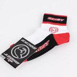 Ghost Sport Socken weiß-rot-schwarz