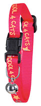 Halsband CoolCats pink