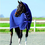 Horseware Amigo Plus Fleece - Atlantic Blue/Altantic Blue&Ivory - Abschwitzdecke