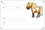 """Boxenschild """"Pony"""""""
