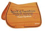 Busse Schabracke Spirit of Equestrian summer orange