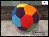 Fußball aus Fleece