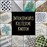 """neu als Intensivkurs """"Keltische Knoten"""", online, 10-18 Uhr"""
