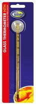 Glas-Thermometer mit Saugnapf