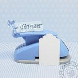 """Stanzer 3"""" Paketanhänger"""