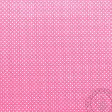 Scrapbookingpapier pinkmit kleinen Punkten
