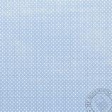 Scrapbookingpapier royalblau mit kleinen Punkten