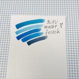 Brush Pen 5-er Set blau  TALENS Ecoline