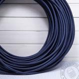 Textilkabel dunkelblau (Navy blue)