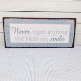 """SCHILD """"never regret"""""""