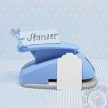 """Stanzer 2.5"""" Paketanhänger"""