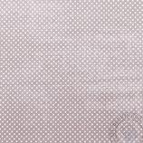 Scrapbookingpapier  braunmit kleinen Punkten