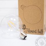 LED Glühbirne 95mm rund