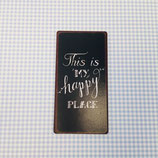 "Magnet ""happy place"""