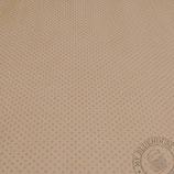Scrapbookingpapier khaki, braun mit Punkten