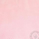 Scrapbookingpapier rosamit grossen Punkten